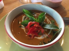 Red curry with chicken @ Thai Farm Cooking School