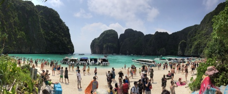 "From ""The Beach"" @ Maya Bay"