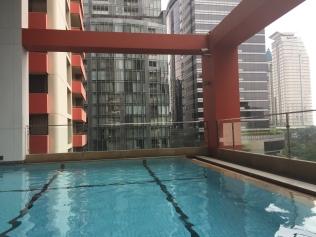 Pool @ Bandara Suites Silom Bangkok