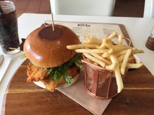 Crispy Chicken Sandwich @ The Rocks