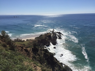 Cape Byron - the most easterly point of Australia