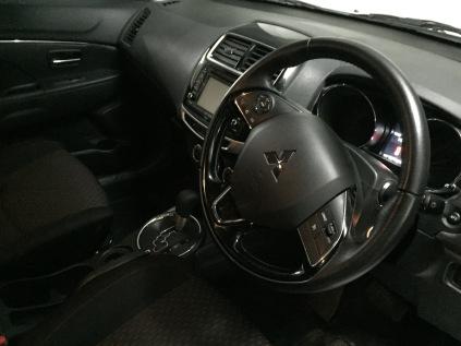 Inside my Mitsubishi ASX
